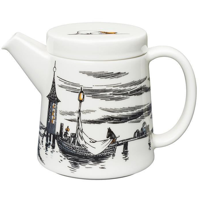 Moomin Teapot True To Its Origins 0.7 L - .