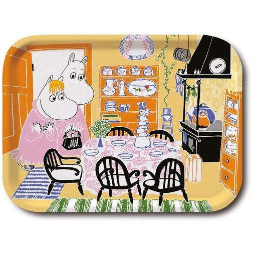 Moomin Tray Kitchen Yellow 27 x 20 cm - .
