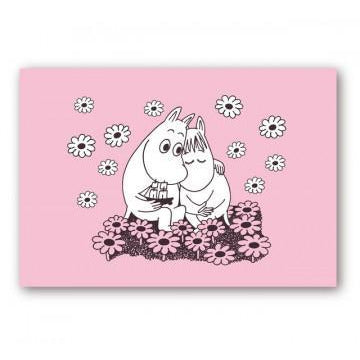 Moomin Placemat Love Pink - .