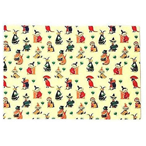 Moomin Placemat 50s Pattern - .