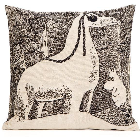 Jacquard Cushion cover Snowhorse - .