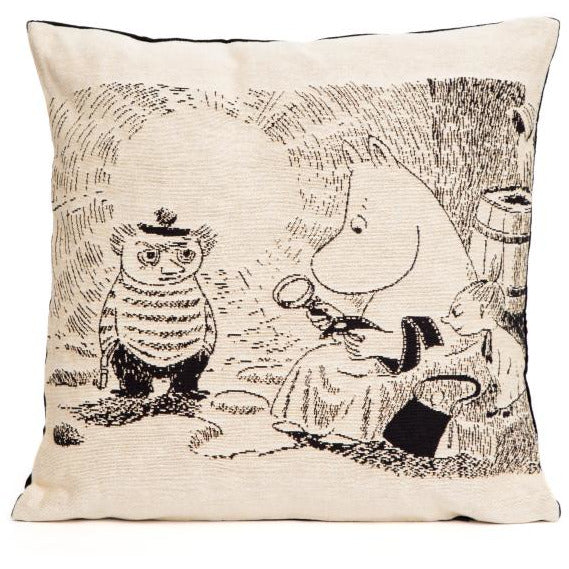 Jacquard Cushion cover Magnifying glass - .