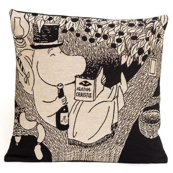 Jacquard Cushion cover Moominpappa - .