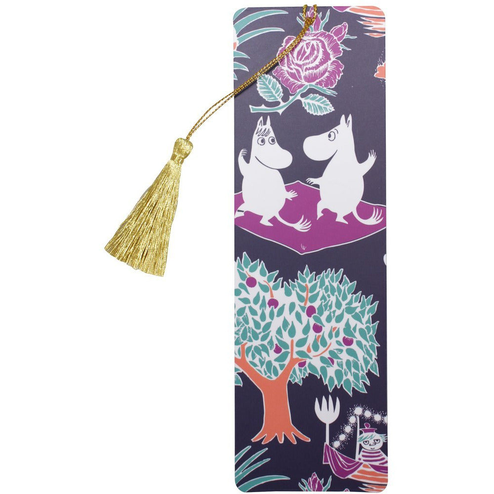 Moomin Bookmark - Moomin Pattern With Tassle - .