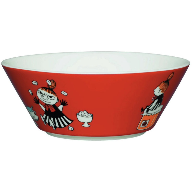 Moomin Bowl Little My Red - .