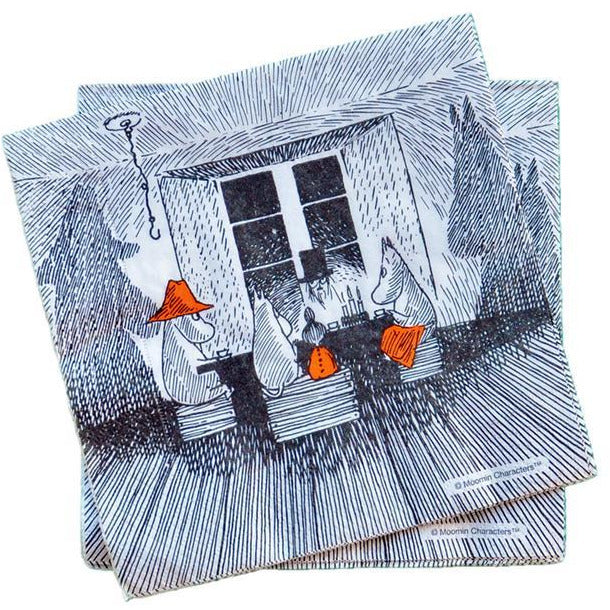 Moomin Paper Napkin Together - .