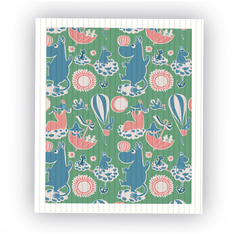 Dishcloth Tove 100 Green - .