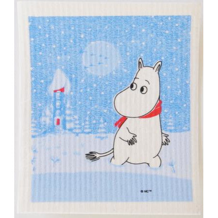 Dishcloth Moomin Snow - .