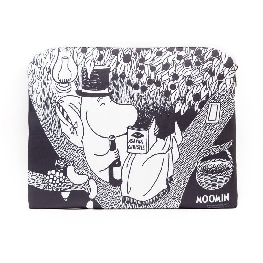 Tablet pouch Moominpappa Reading - .