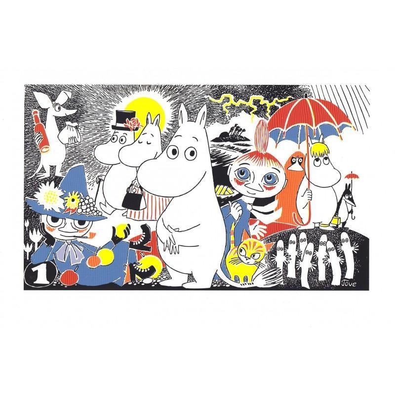 Poster Moomintroll Comic 1 small - .