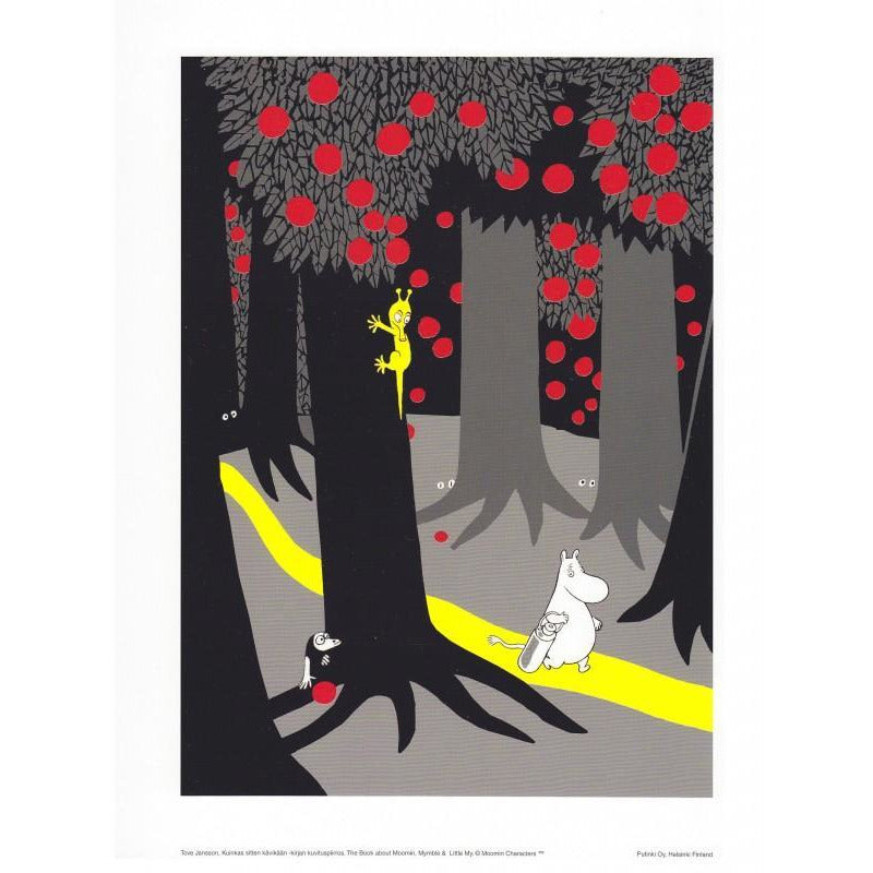 Poster Forest Path small - .