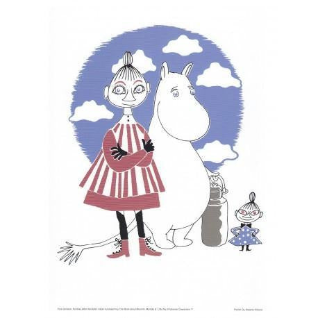 Poster Moomin, Mymble And Little My small - .
