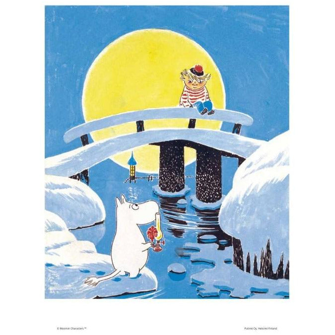 Poster Moominland Midwinter small - .