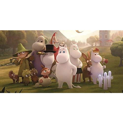 Postcard Moominvalley TV Moominvalley Residents - .