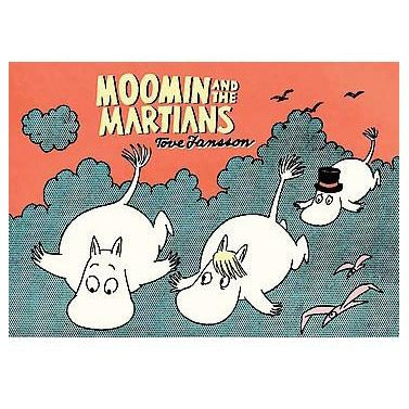 Colour Comic Book Moomin And The Martians - .