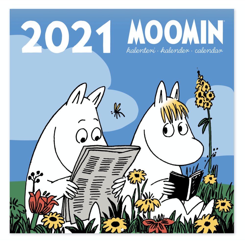 Moomin Mini Wall Calendar 2021