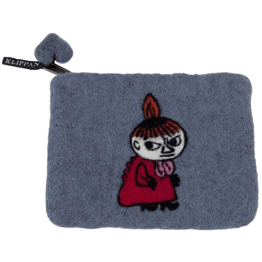 Felted Purse Sneaky Little My Grey - .