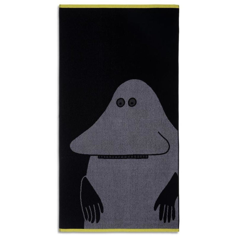 Bath Towel The Groke Black - .