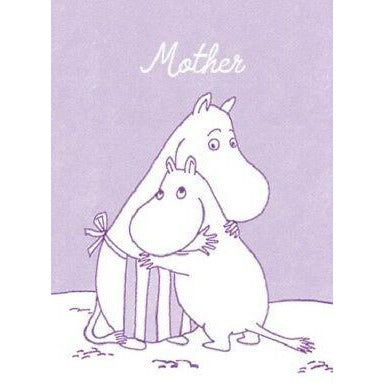 Greeting Card Moominmamma Lilac - .