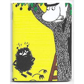 Moomin Mini Notebook Moominpappa And Stinky - .