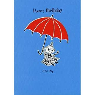 Birthday Card Little My Blue - .
