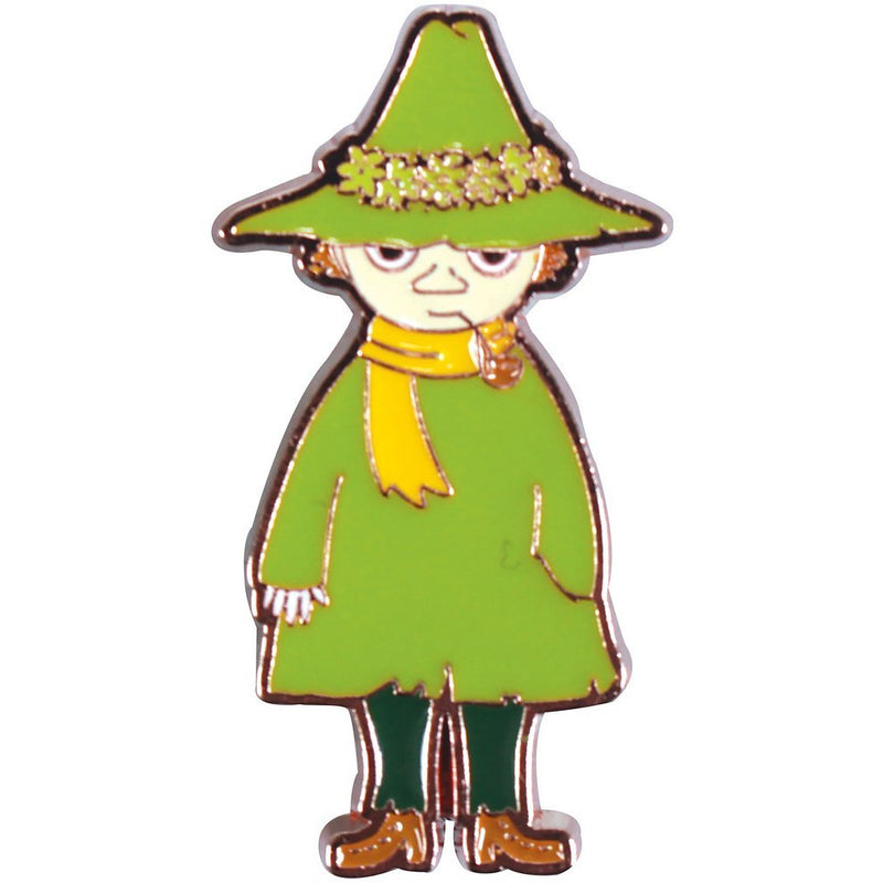 Moomin Metal Pin Badge Snufkin - .