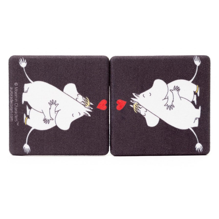 Pocket Mirror Love Black - .