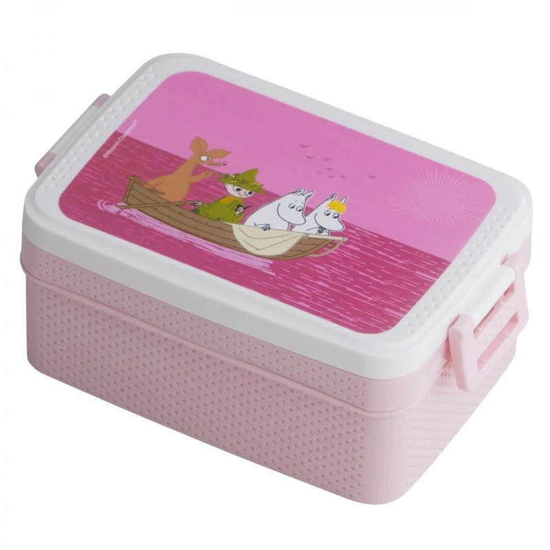 Moomin Lunch Box Sea Pink - .