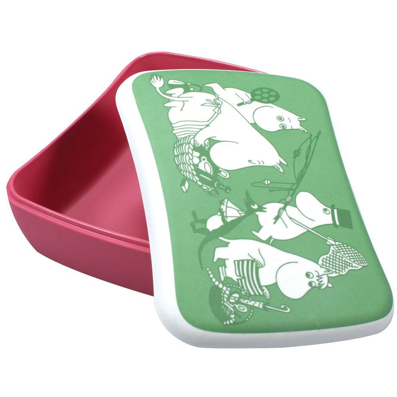 Moomin Bamboo Lunch Box Picnic - .