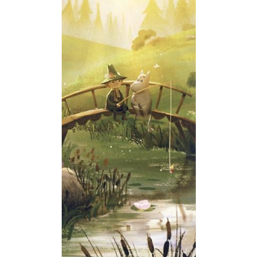 Postcard Moominvalley TV At The Bridge - .