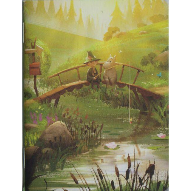 Journal A5 Moominvalley On The Bridge - .