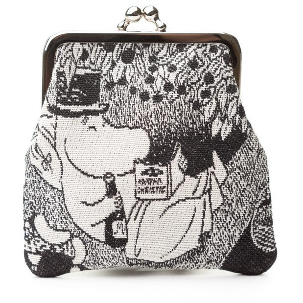 Gobelin Clip Purse Moominpappa Reading In Tree - .