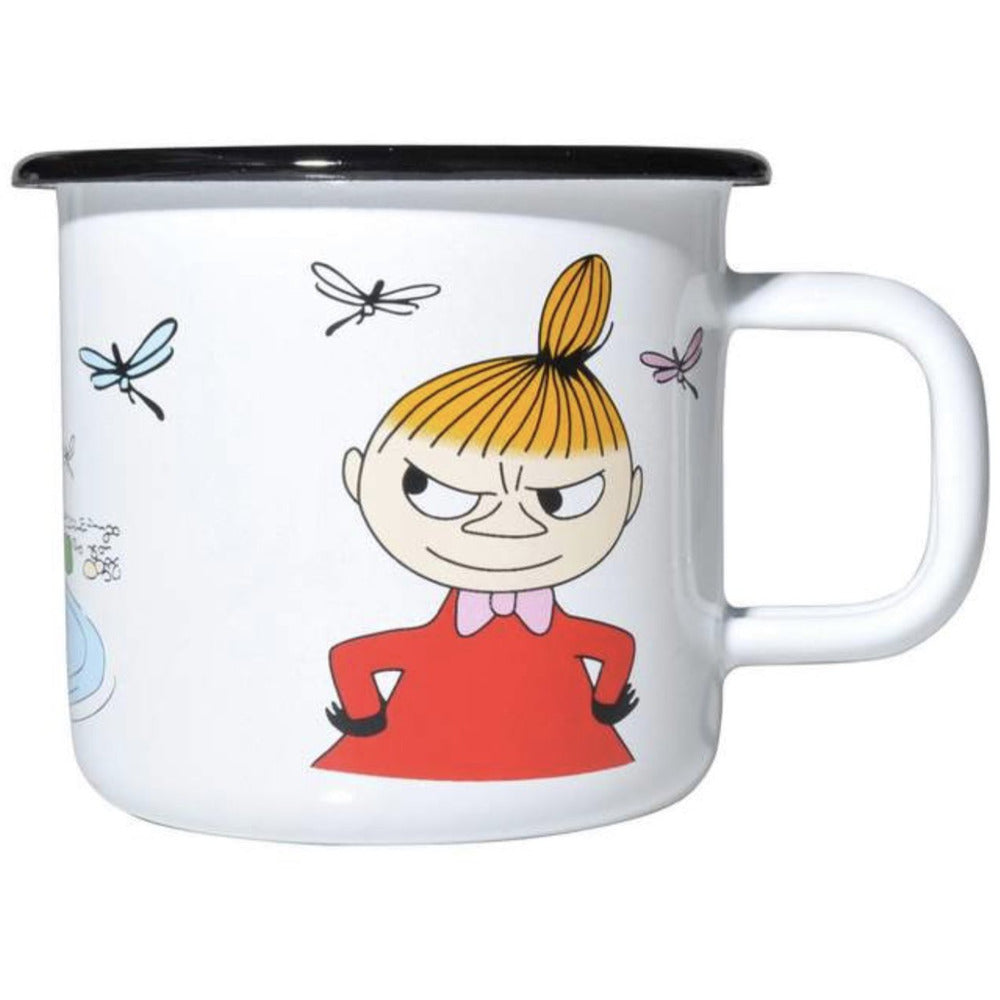 Moomin Enamel Mug 3.7 dl Colors Little My - .