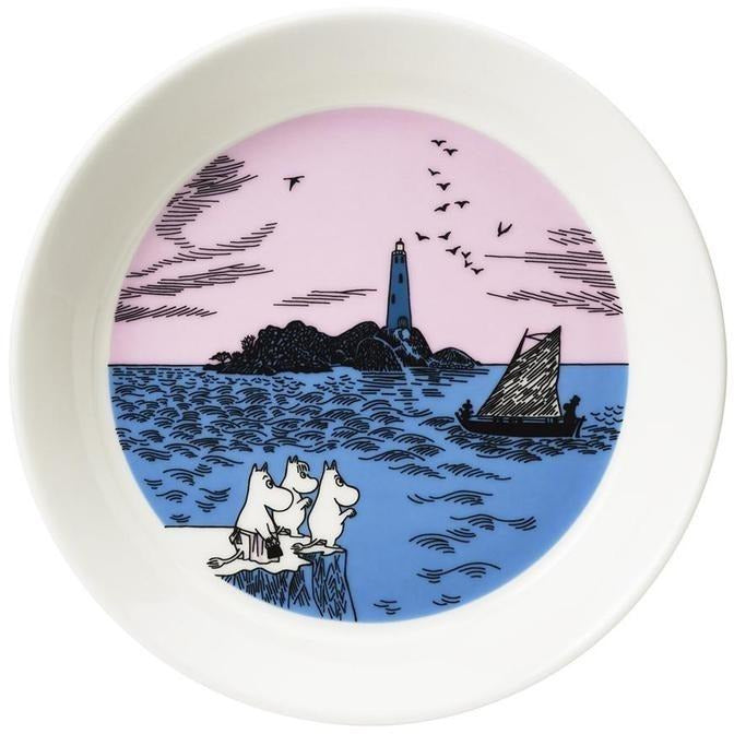 Moomin Collector plate 2-Pack Night Sailing and Peace - .