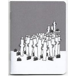Moomin Mini Notebook Hattifatteners