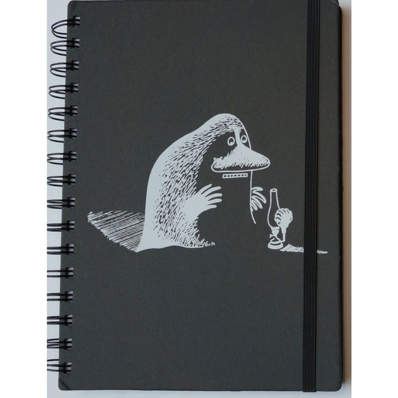 Wire Notebook Black A5 Hard Cover The Groke - .