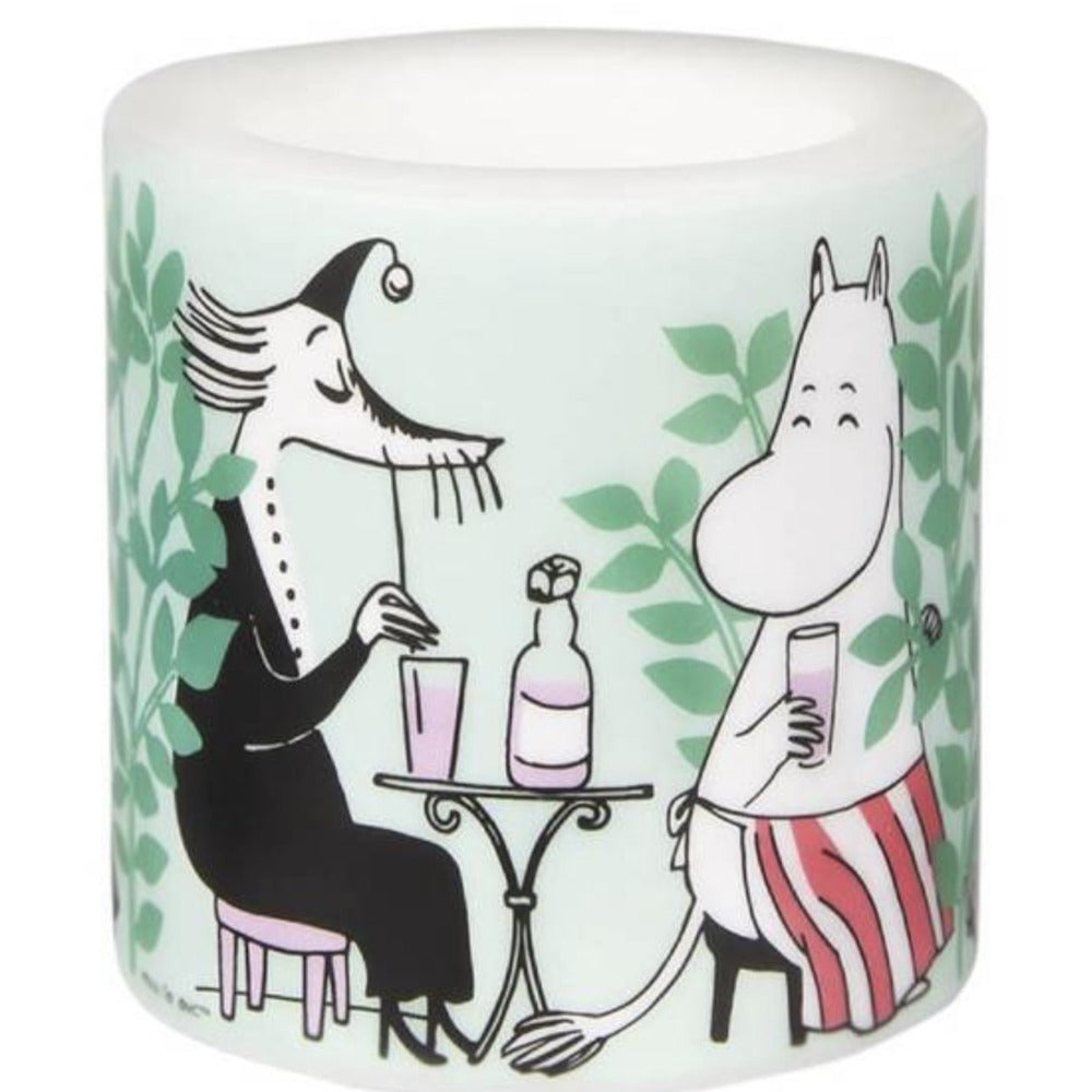 Moomin Candle Day In The Garden Small - .