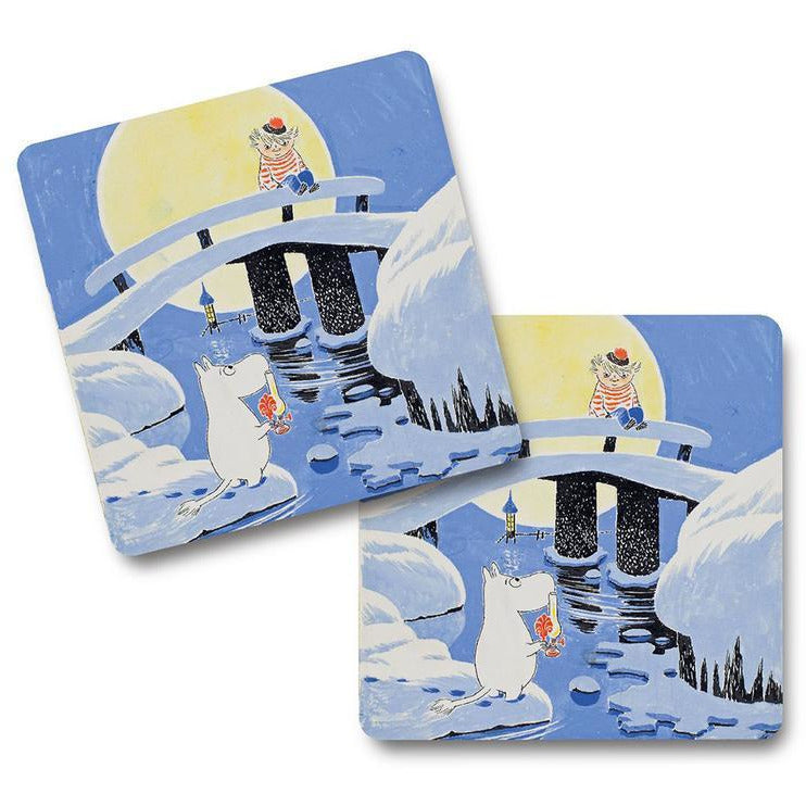 Coaster Moominland Midwinter 4 pcs - .