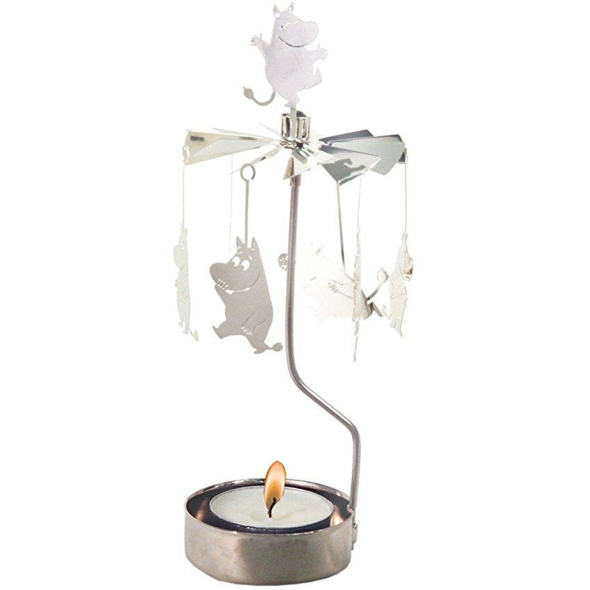 Rotary Candle Holder Moomin Family