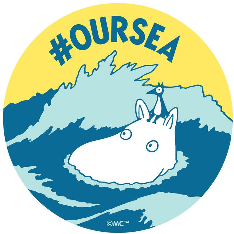 Postcard Moomintroll #oursea - .