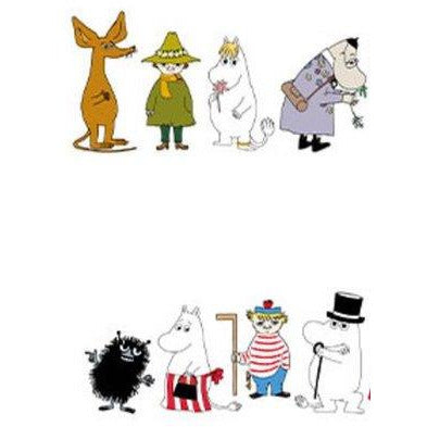 Moomin Paper Napkin Moominvalley Residents - .
