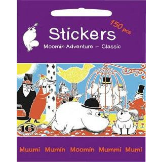 Stickers Set Moomin Adventure - .