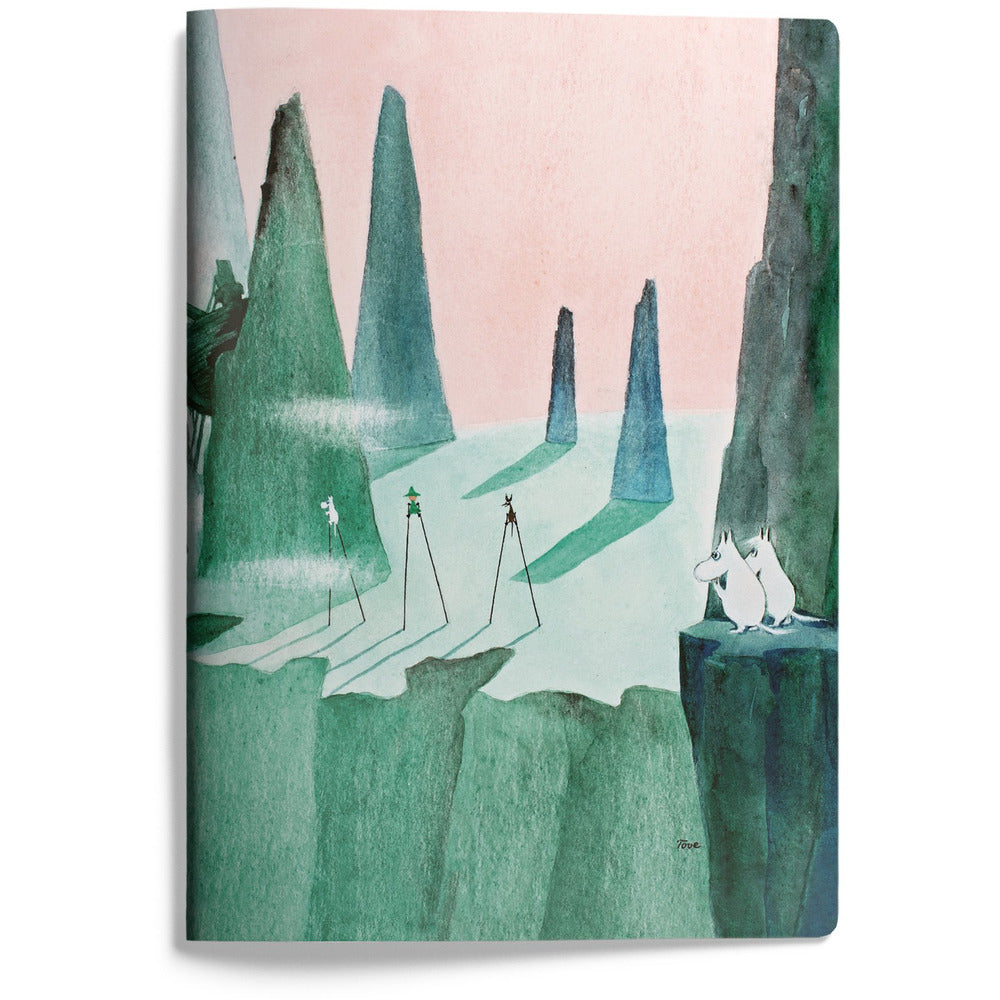 Moomin Softback Notebook Comet Chase - .