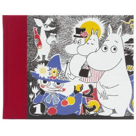 Clothbound Hardback Notebook Comic Red - .