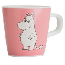 Moomin Melamine Mug Water And Swimming Pink - .