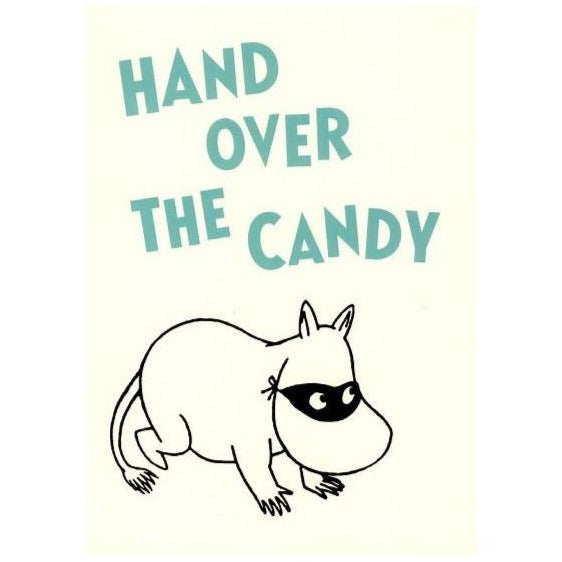 Postcard  Hand Over The candy - .