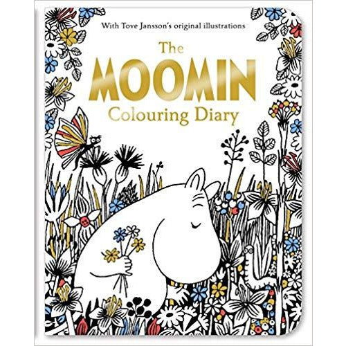 The Moomin Colouring Diary - .