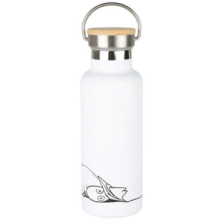 Moomin #oursea Stainless Steel Bottle White - .