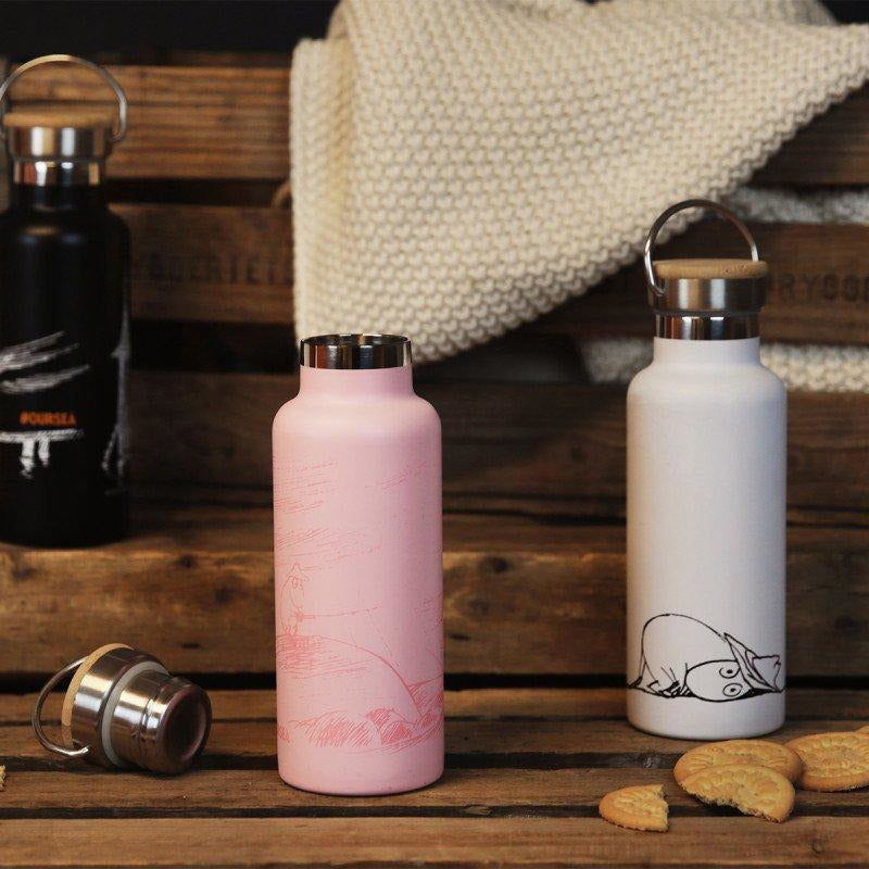 Moomin #oursea Stainless Steel Bottle Pink - .