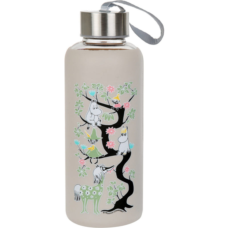Moomin Climbing A Tree Bottle Grey - .